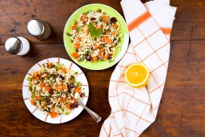 Sweet Potato Cauliflower Tabbouleh