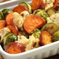 Maple Roasted Vegetable Medley