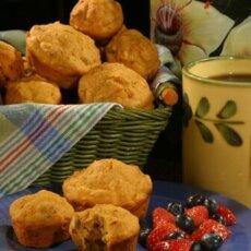 Sweetpotato Banana Muffins