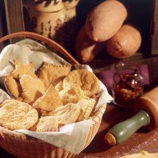 Snappy Sweetpotato Crackers