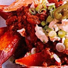 Weekend Recipe: Sweetpotato Wedges with Turkey Mole