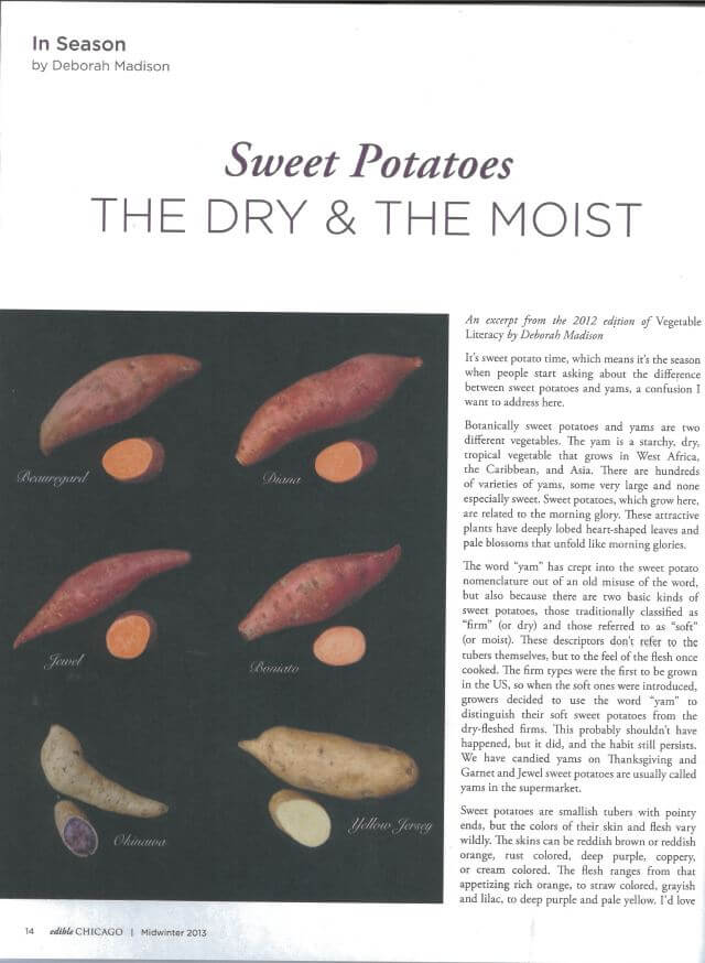 difference between sweet potatoes and yams deborah on sweet potatoes in edible chicago 12952