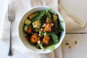 Spicy Salad 2.Overhead