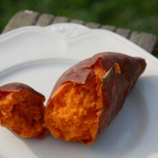 Don't Toss That Tater – 3 Sweetpotato Second Uses