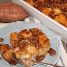 Baked Sweetpotato French Toast Casserole