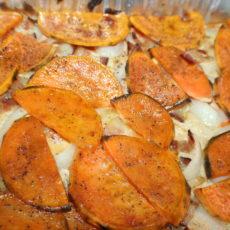 Sweetpotato Gratin