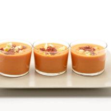 Sweetpotato & Yellow Tomato Gazpacho