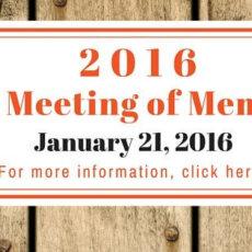 2016 Annual Meeting of Membership