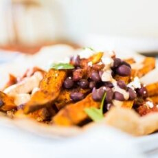Sweet Tater Shout Out: Mexican Loaded Sweetpotato Fries