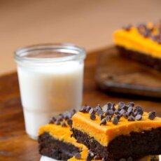 Sweetpotato Cheesecake Brownies