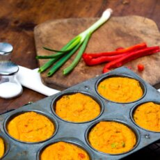 Curried Sweetpotato Egg Muffin Cups