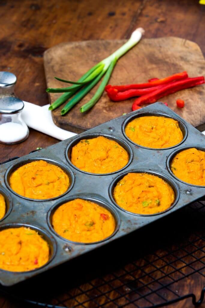 Sweet Potato Egg Muffin Cups