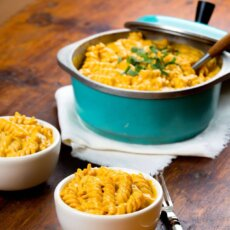 Sweetpotato & Sage Mac n' Cheese