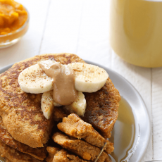 Sweetpotato Power Pancakes
