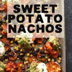 Southwestern Sweetpotato Nachos
