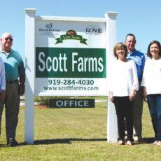 Scott Farms wins produce marketing award