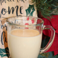 Sweetpotato Egg Nog