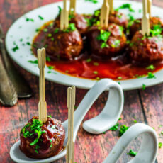 Sweetpotato Veggie Meatballs