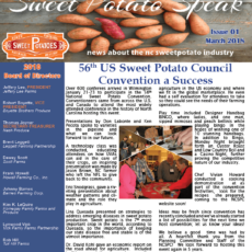 Sweetpotato Speak – March 2018