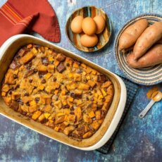 Sweetpotato Bread Pudding