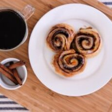 Easy Sweetpotato Cinnamon Rolls