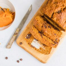 Sweetpotato Chocolate Chip Bread