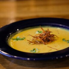 Curried Sweetpotato Soup