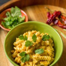 Sweet Potato Coconut Curry Pasta