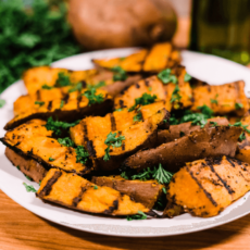 Best Grilled Sweetpotatoes