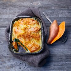 Sweetpotato Spinach Lasagna