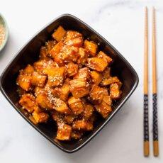 Korean Candied Sweetpotatoes